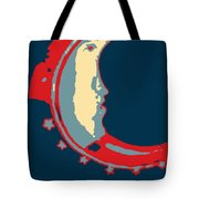 Moon Phase In Hope Tote Bag