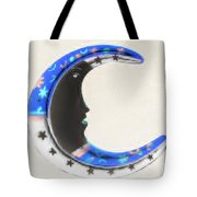 Moon Phase In Inverted Colors Tote Bag