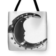 Moon Phase In Negative Tote Bag