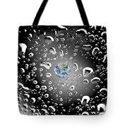 Moon Rain Tote Bag