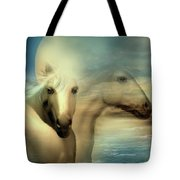 Moon Sisters Tote Bag
