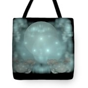 Moon Stars And Clouds Tote Bag