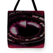 Moon In The Arches In Polar Transformation Tote Bag