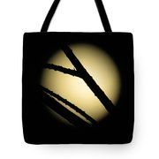 Moon Through The Branches Tote Bag