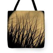 Moon Through The Palms Tote Bag