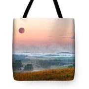 Moon Valley Morning Tote Bag