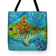 Moonfish Tote Bag by Sergey Khreschatov