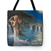 Transformed By The Moonlight Tote Bag