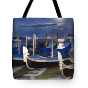 Moonlight Gondolas - Venice Tote Bag