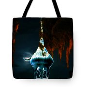 Moonlight Minaret Tote Bag