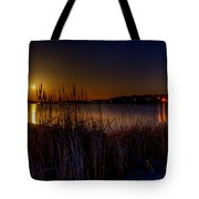 Moonlight On The Lake Tote Bag