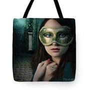 Moonlight Rendezvous Tote Bag