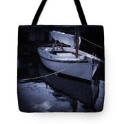 Moonlight Sail Tote Bag by Amy Weiss