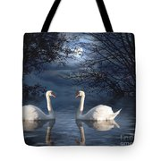 Moonlight Swim Tote Bag