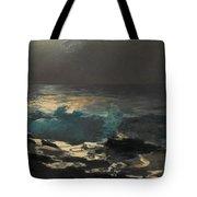 Moonlight. Wood Island Light Tote Bag
