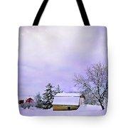 Moonlit Farm Tote Bag