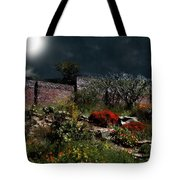 Moonlit Hillside In Africa Tote Bag