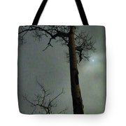 Moonlit Marks On A Ground Glass Canvas  Tote Bag