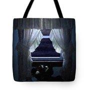Moonlit Window Tote Bag