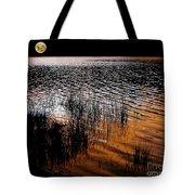 Moonrise After Sunset Tote Bag by Kaye Menner
