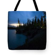 Moonrise At Wabasso Campground Tote Bag