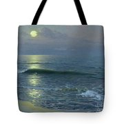 Moonrise Tote Bag by Guillermo Gomez y Gil