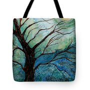 Moonrise In The Wild Night Tote Bag