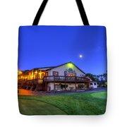 Moonrise On Golfcourse In Salem Ohio Tote Bag