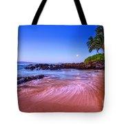 Moonrise Over Maui Tote Bag