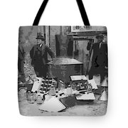 Moonshine Still Prohibition 1922 Tote Bag