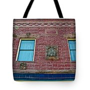 Moore Block-1896 With Gargoyle-like Features In Pipestone-minnesota  Tote Bag