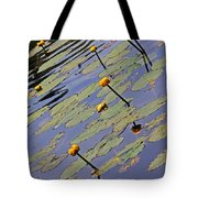 Moore State Park Lily Pads 1 Tote Bag