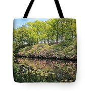 Moore State Park Water Reflections Tote Bag