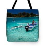 Moorea Lagoon No 12 Tote Bag