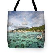 Moorea Lagoon Resort Tote Bag