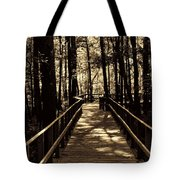 Moores Creek Battlefield  Nc Swam Bridge  Tote Bag