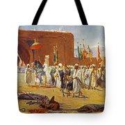 Moorish Procession Tote Bag