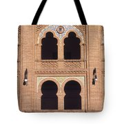 Moorish Windows Madrid Tote Bag
