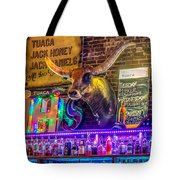 Moose Head Saloon II Tote Bag
