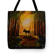 Moose Hideout Tote Bag