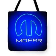 Mopar Neon Sign Tote Bag