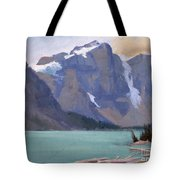 Moraine Lake Banff Tote Bag
