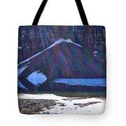 Moraine Lake Lens Flare Tote Bag