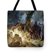 Moravian Missionary Tote Bag