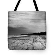 More Beach Tracks Tote Bag