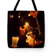 More Candles At Relay For Life Tote Bag