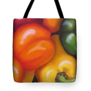 More Peppers Tote Bag