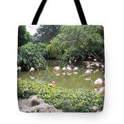 More Pink Flamingos Tote Bag