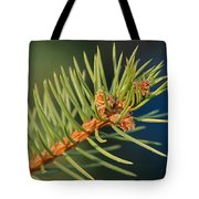 More Spruce Buds Tote Bag
