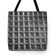 More Windows In Black And White Tote Bag